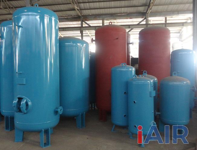 Bình khí nén có vai trò quan trọng không thể thiếu trong hệ thống khí nén